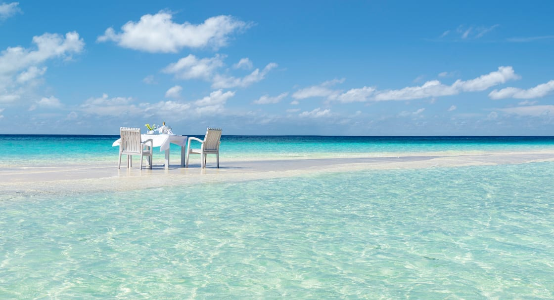 Gulhifushi Dining by Design at Naladhu Private Island