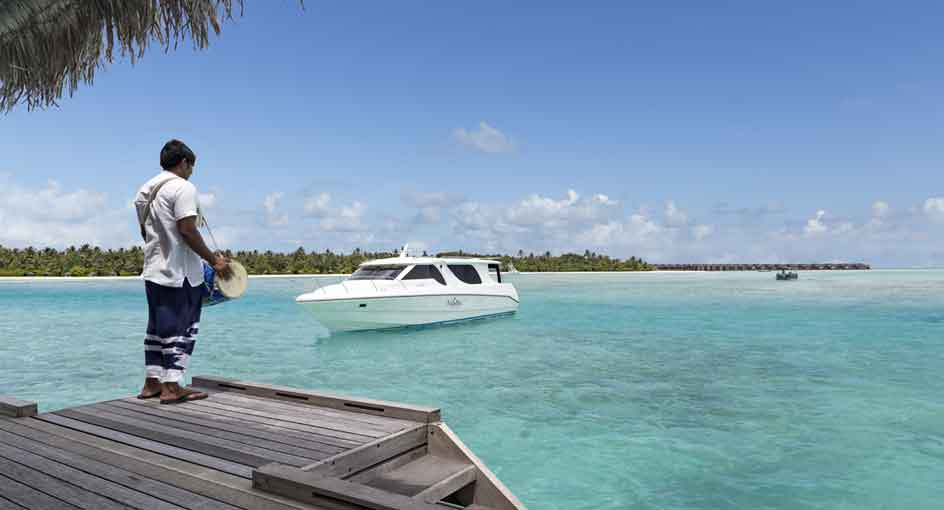 Naladhu Private Island Maldives Preopening Offer with Transfers